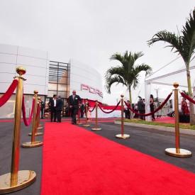 Inauguration showroom Porsche