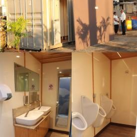Toilettes mobiles de luxe
