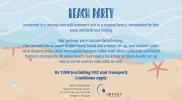1 Beach Party