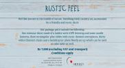 1 Rustic Feel